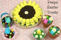 Fun Easter treats using PEEPS!  Kids will love making these goodies!  #PeepsTreats