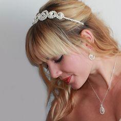 Pretty Aphrodite Grecian Headband at www.lolaandi.com