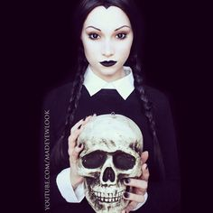 YouTube.com/madeyewlooktwice WILL ALSO BE CELEBRATING #halloween!  All beauty looks will be posted on my second channel (as always) including #monsterhigh  #wednesdayaddams will be up TONIGHT!