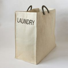 laundry tote | Dransfield & Ross
