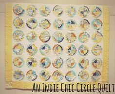 Riley Blake Designs Blog: Project Design Team Wednesday~Indie Chic Circle Quilt