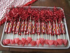 Cute Valentine day Party treat -   cupid's arrows