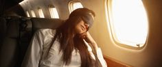 How to Sleep Better on a Plane