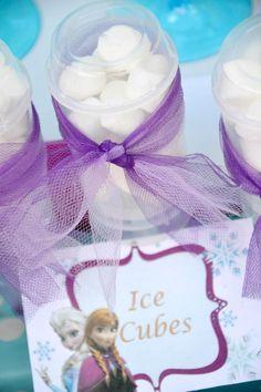Disney's Frozen themed birthday party full of ideas! Via KarasPartyIdeas.com #frozen #frozenparty