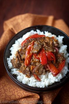 {Asian} Spicy Beef & Bell Pepper