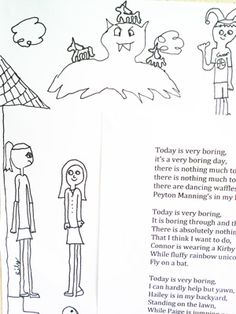 How to make Shel Silverstein- inspired art and poetry!