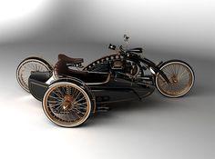 retro sidecar styling