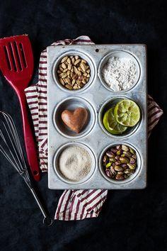 Vegan Cookies Ingredients by onegirlinthekitchen on Flickr.