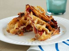 Waffled Tomato-Grilled Cheese : FoodNetwork