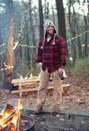 super sexy campfire man