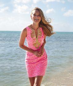 beach dresses, pink summer, summer dresses, cosmo pink, lilli pulitz
