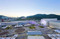 unsangdong architects animate hyundai motors group pavilion for the 2012 yeosu expo, south korea - designboom | architecture & design magazine