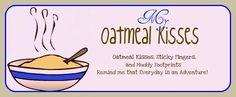My Oatmeal Kisses, pre school schedule