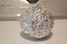 Use an aluminum foil ball instead of a dryer sheet.. really?