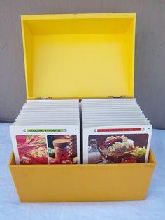Vintage BETTY CROCKER Recipe Box