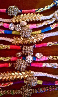 DIY Super Gem Bracelets