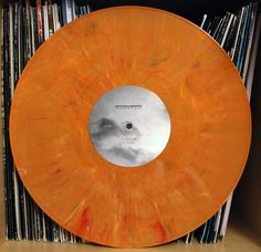 Intrusion – The Seduction Of Silence orange marbled #vinyl 12""