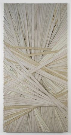 Mathew Chambers -- collaborative art project: layering pieces of paper for texture and to explore lines