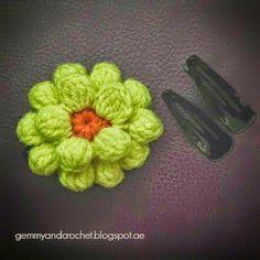 All About Crochet: FREE PATTERN: Flower crochets