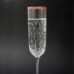 Candy Cane Fizz-tini - Best Holiday Drink Recipes Under 200 Calories - Shape Magazine