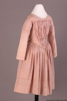 Girl's Dress, about 1845