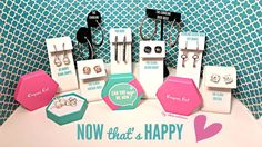 Earring collection from Origami Owl