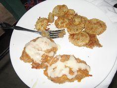 Crispy Cheddar Chicken + Homemade Cream of Chicken Soup