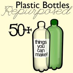 50+ Repurpose Plastic Bottle Crafts to Make from Saved By Love Creations~~