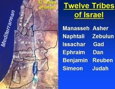 Las tribus y distribucion de tierra