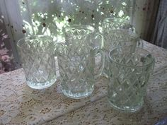 oz diamond, pattern glass, diamond pattern, glass crystal