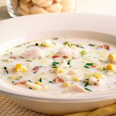 corn recipes, healthy soup, food, summer soups, chowders, corn chowder, tilapia corn, green salads, fast dinners