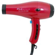 FHI Heat Nano Salon Pro 2000 Hair Dryer - Red