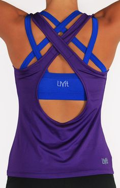 This is an awsome website for fitness clothes. They are so cute that they make you want to put them on and exercise.