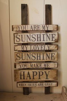 You are my sunshine ~.~