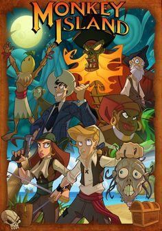 Monkey Island = BEST Lucasarts game EVER!!!