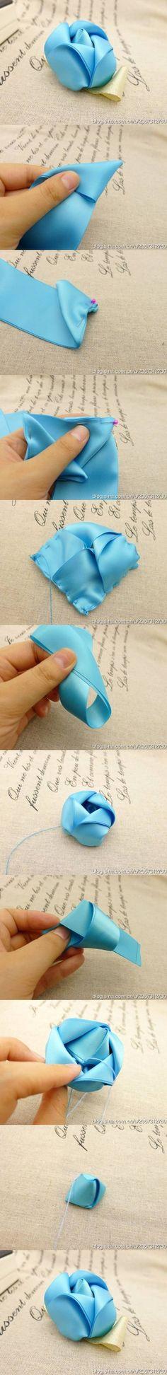 DIY Rosette Ribbons