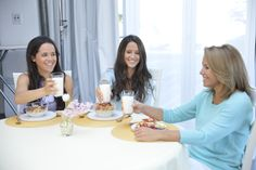 "Cheers!! On Friday's ""Mother's Day"" episode, I'm so excited to unveil the got milk? ad I shot with my daughters! Stay tuned!"