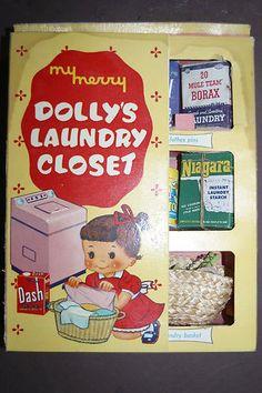 My Merry Dolly's Laundry Closet