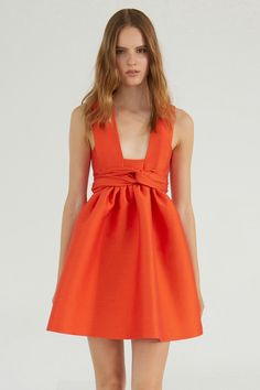 Stella McCartney resort 2014 mccartney dress, mccartney 2014, mccartney resort, stella mccartney, orang, closets, spring fashion 2014 dress, dresses, resort 2014