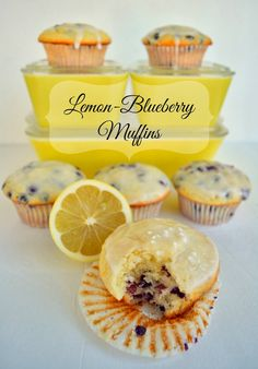 Recipe: My Favorite Lemon-Blueberry Muffins These muffins are the ultimate!  They are easy to make and are light, cakey and delicious.  Best of all, nonfat Greek yogurt takes the place of some of the oil, so they're packed with protein to help keep you satisfied longer.  They're the perfect balance of sweet and tart. #recipe