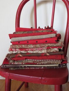 quilt, color, red chair, countri red, primit red, fabric addict, textil, fabric major, linen