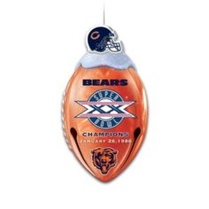 Bears Jingle Bells With FREE Super Bowl XX Ornament