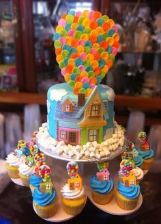 up cake and cupcakes