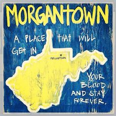 #Truth #WVU Photo Cred: @Jess Pearl Liu Barton Edwards -- Gift idea for Mike? Definitely. He'll always be a Mountaineer. <3