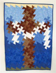 my Lil' Twister cross quilt.