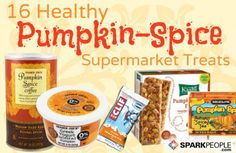 WE LOVE #pumpkin!! Here are some of the best #fall #treats on the market right now! | via @SparkPeople
