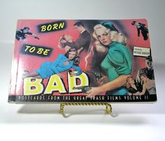Born to be Bad Vintage Postcards From the Great by borahstyle, $10.00
