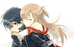 Sword Art Online Kirito and Asuna
