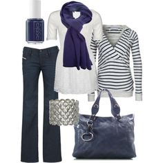 Blue/gray.