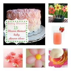 Baby Bloom! 15 Flower-Themed Baby Shower Ideas